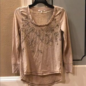 Miss Me long sleeve shirt size small